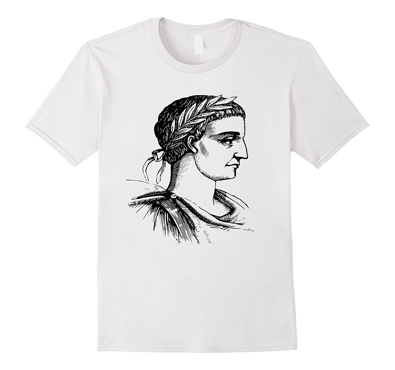 68fa745c1 Constantine the Great T-Shirt Rome Roman Emperor SPQR Tee-TD – Teedep