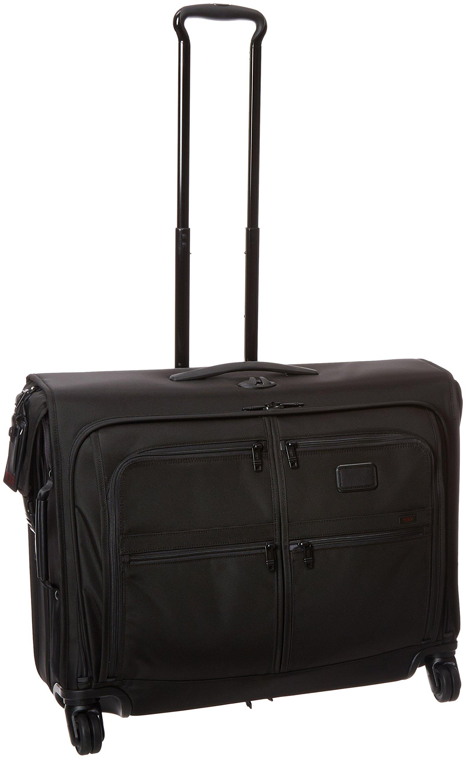 Tumi Alpha 2 4 Wheeled Medium Trip Garment Bag, Black, One Size by Tumi