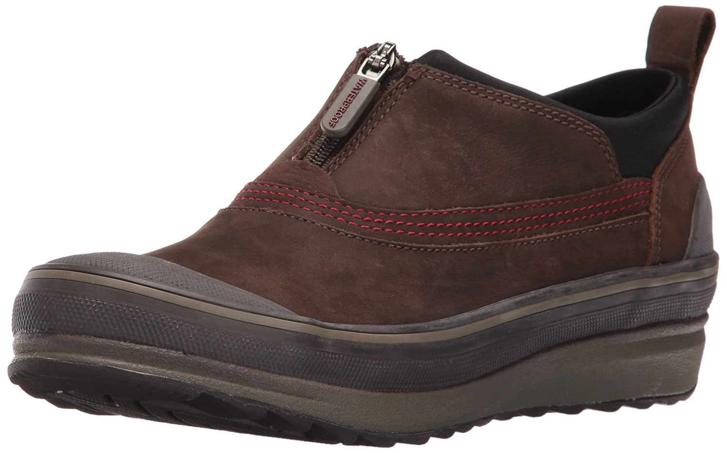 CLARKS Women's Muckers Ruck Rain Shoe B01AI074IM 9.5 B(M) US|Brown Nubuck