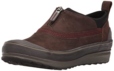 Clarks Women's Muckers Ruck Rain Shoe, Brown Nubuck, ...
