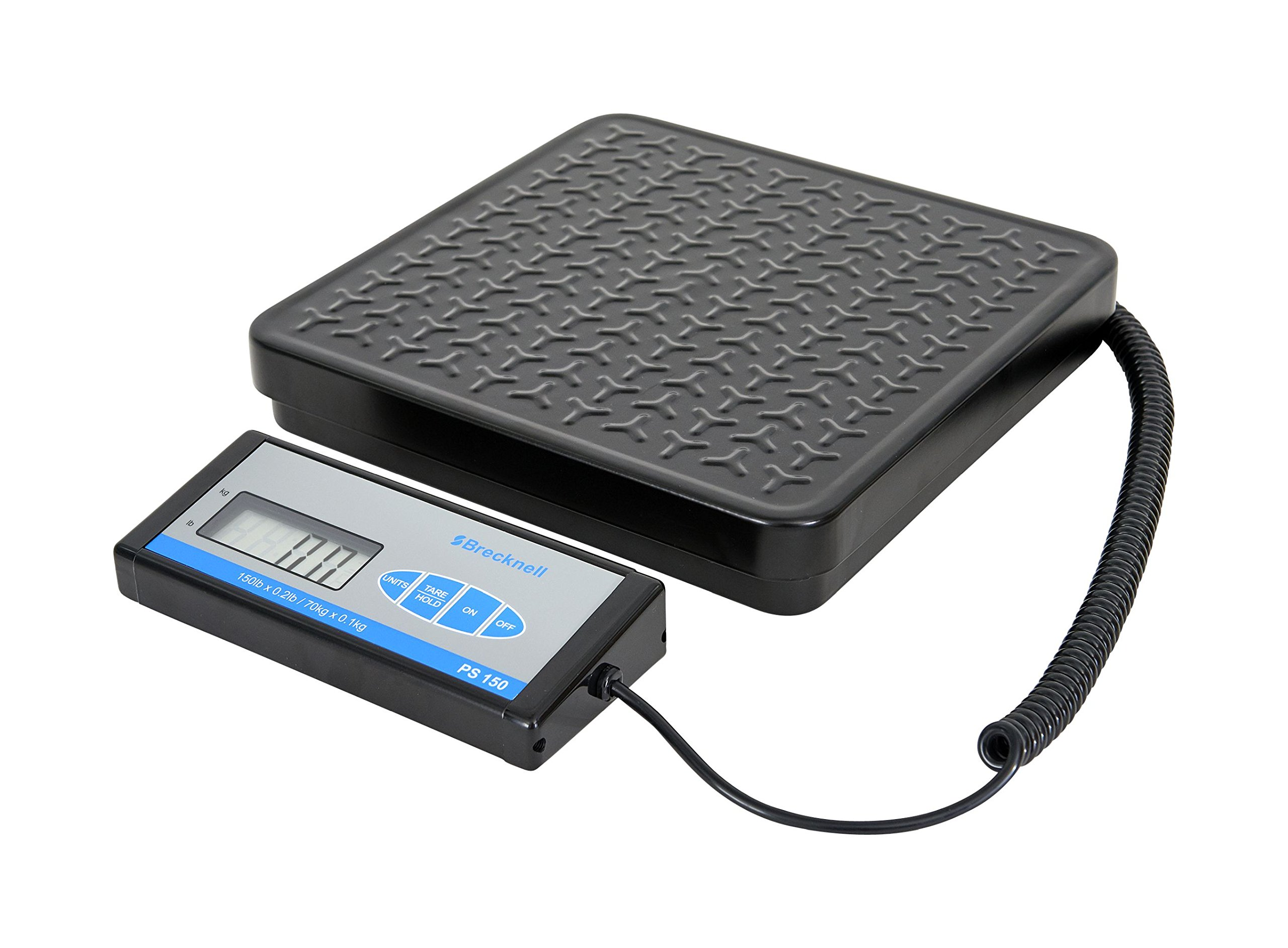 Brecknell PS150 Digital, Shipping Scale; up to 150lb. Capacity, Portable, Perfect for Commercial, Industrial, Warehouse, Postal, High Accuracy