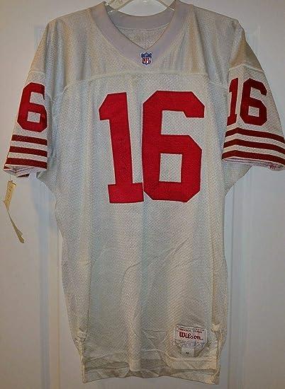 Joe Montana signed auto JSA SF 49ers Wilson authentic jersey HOF ...