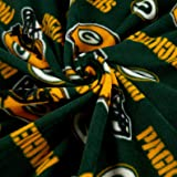 Fabric Traditions NFL Fleece Bay Packers Tossed