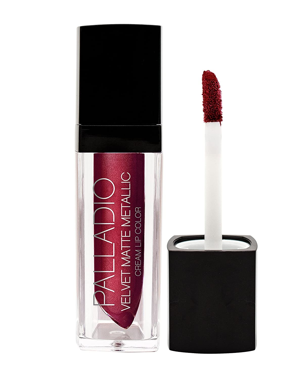 Palladio Velvet Matte Metallic Lip Balm, Lavish