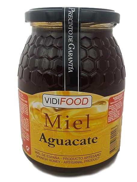 Miel de Aguacate - 1kg - Producida en España - Alta Calidad ...