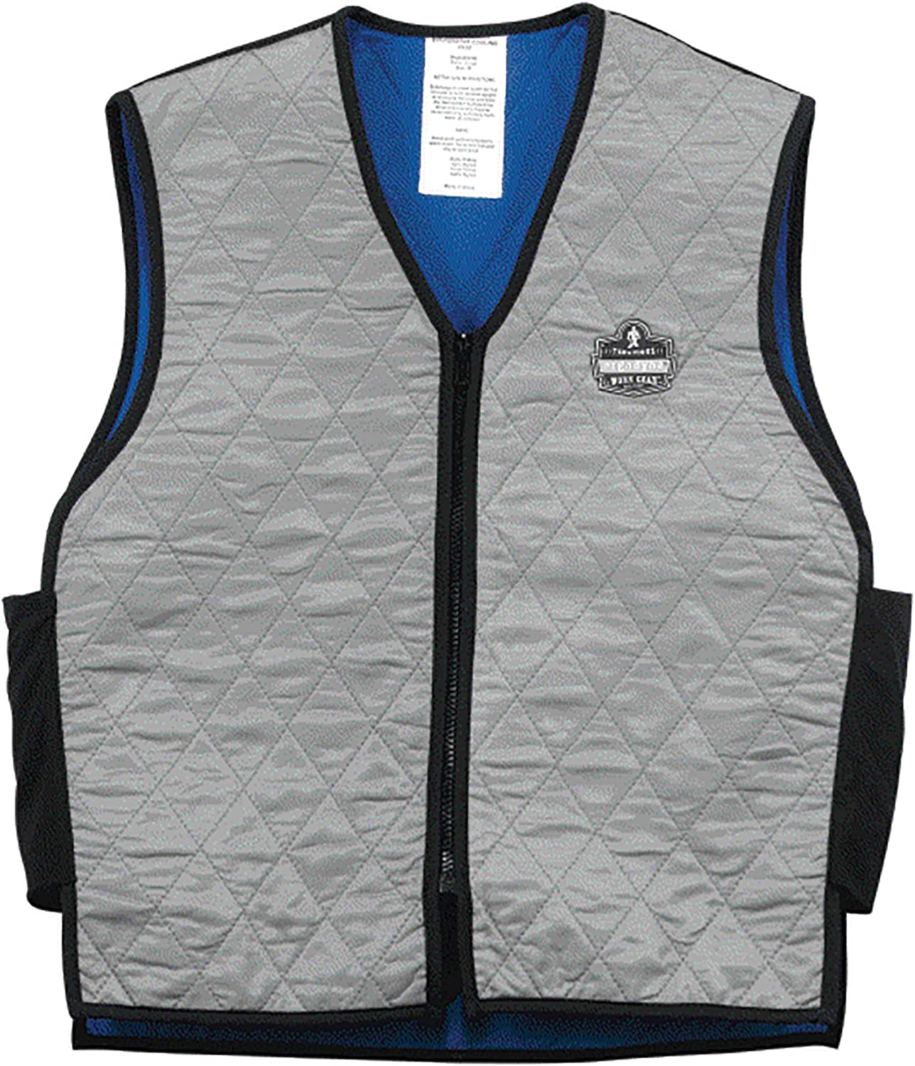 Ergodyne Chill-Its 6665 Evaporative Cooling Vest - Gray, XX-Large