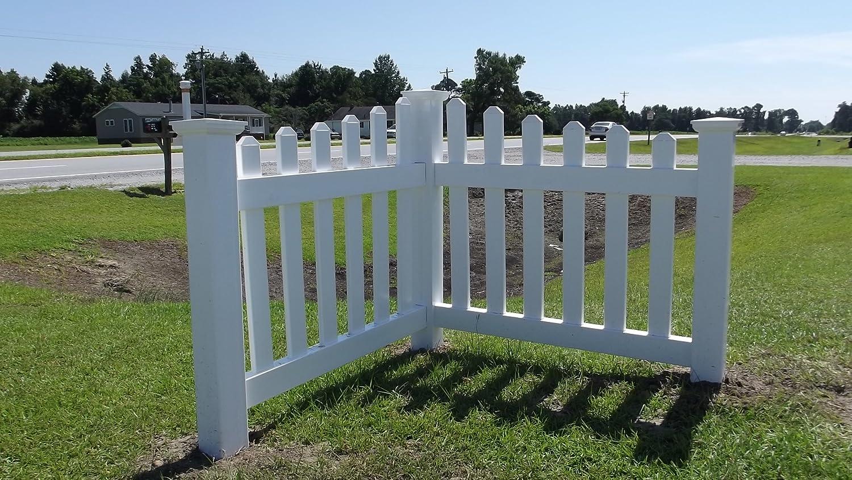 Amazon corner picket fence accent for yard garden or amazon corner picket fence accent for yard garden or driveway patio lawn garden baanklon Images