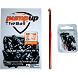 pumpuptheball Sport Ball Inflation Valve Kit (5 Replacement Valves) for Basketball, Soccer, Volleyball and Football