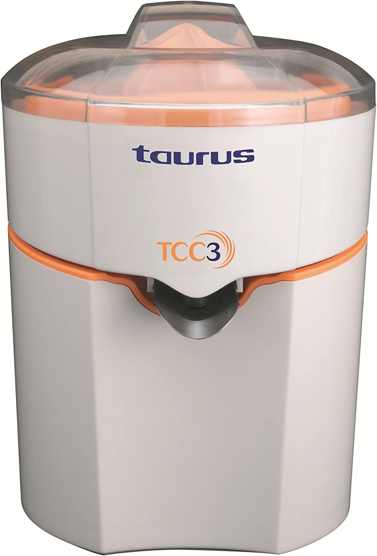 Taurus TCC3 Exprimidor, 70 W, Naranja, Blanco: Amazon.es: Hogar