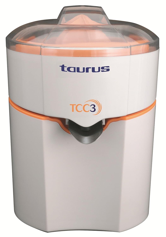 Taurus TCC3 Exprimidor, 70 W, Naranja, Blanco