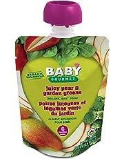 Baby Gourmet Juicy Pear Garden Greens, 12 Count