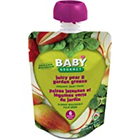 Baby Gourmet Juicy Pear Garden Greens, 12 Count