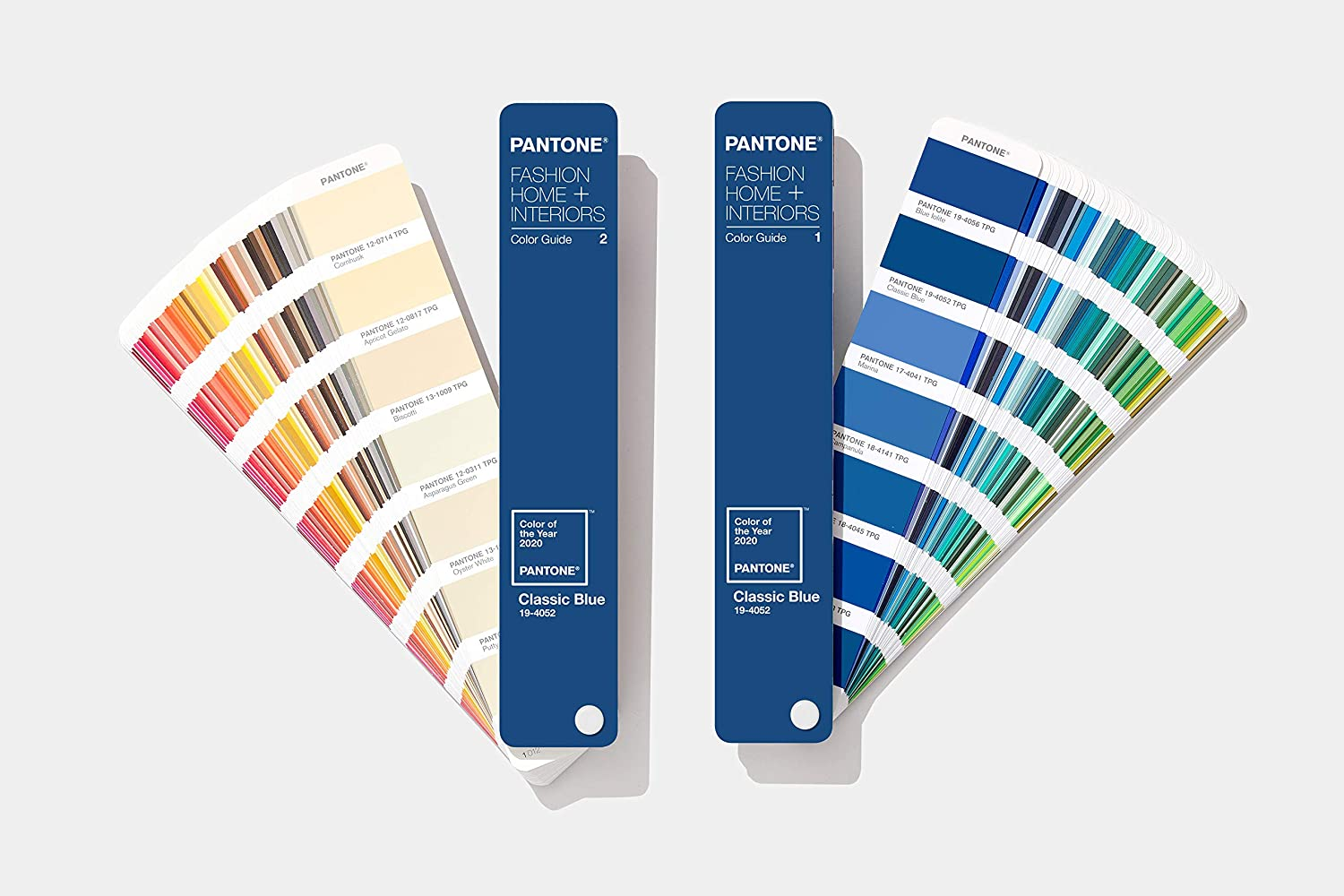 Pantone FHIP110COY20 FHI Color Guide – Home + Interiors 2020 Limited Edition Color of The Year Guide - Classic Blue