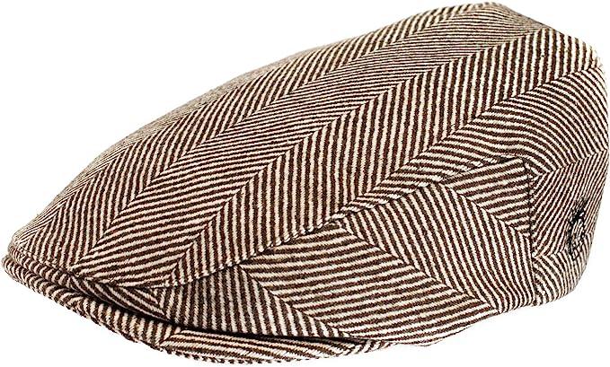 BABY BOYS HAT WOOL HERRINGBONE TWEED IVY CAP NEWBORN HAT 6 MONTHS TO 8 YEARS