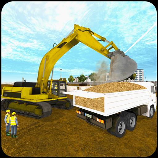 Real Excavator City Builder 3D