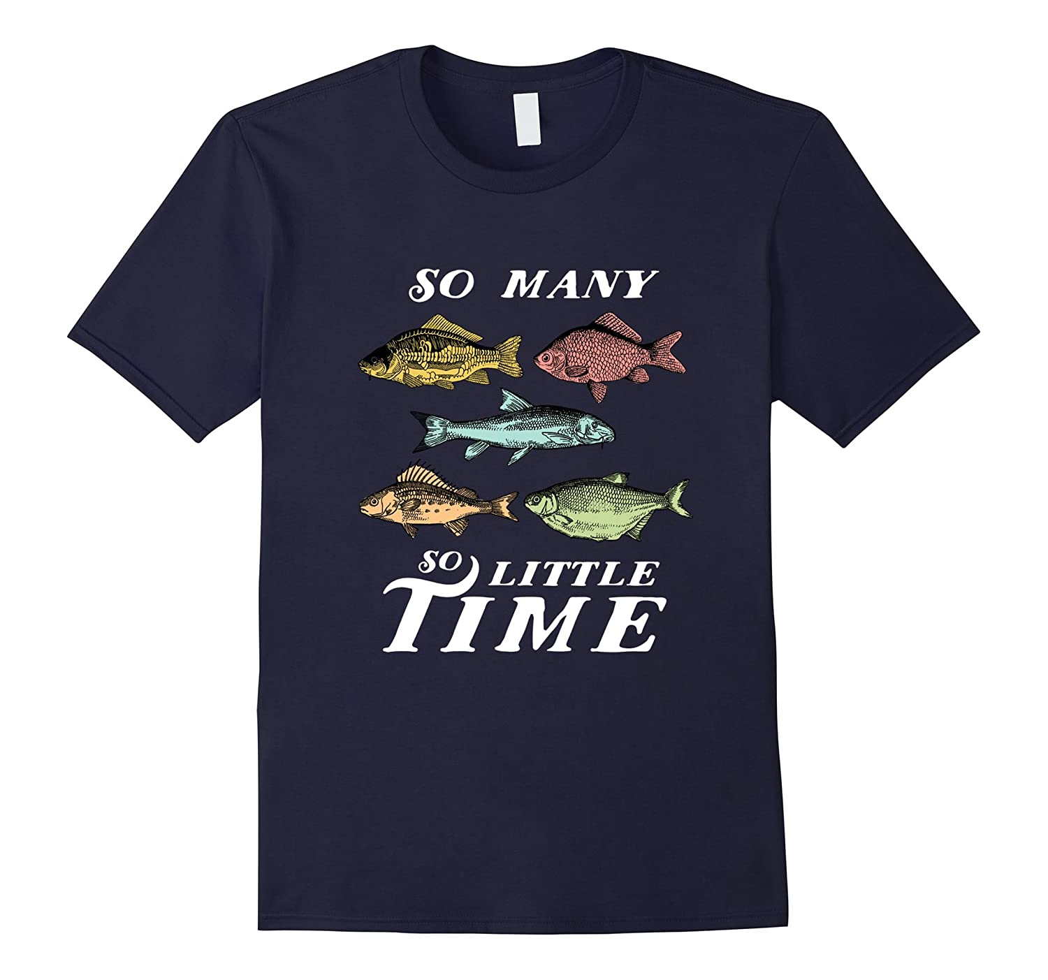Vintage Retro Fishing T-shirt for Retired Fisherman-FL