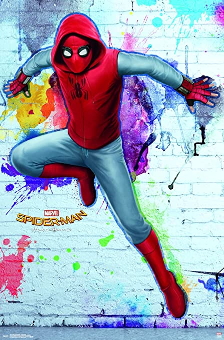 Trends International Spider Man Homecoming Homemade Wall Poster 22375quot