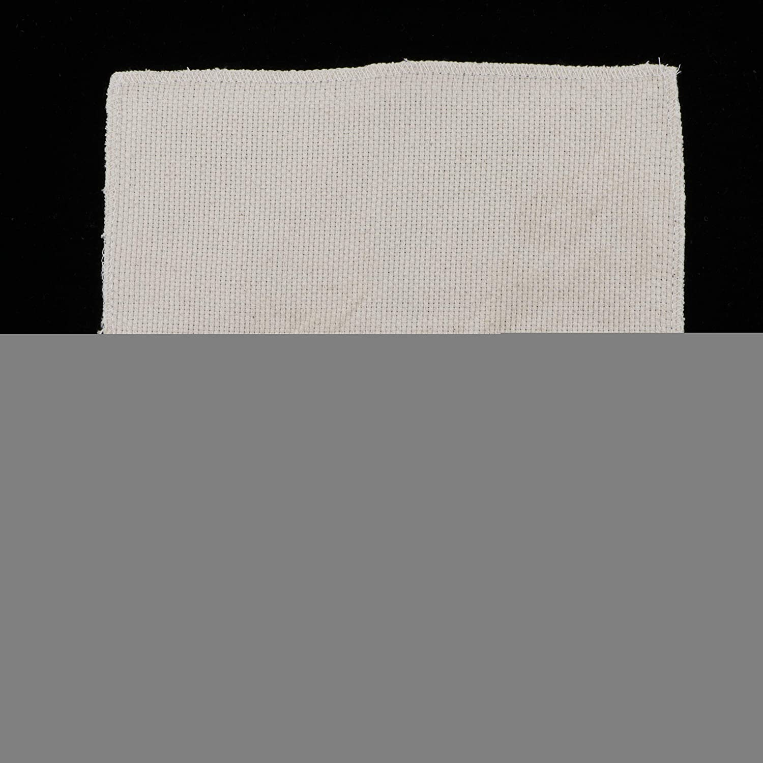 28x28cm dailymall White Cross Stitch Fabric Aida Cloth for DIY Embroidery Needlework Fabric Sewing Punch Needle Embroidery Accessory Handmade Gift