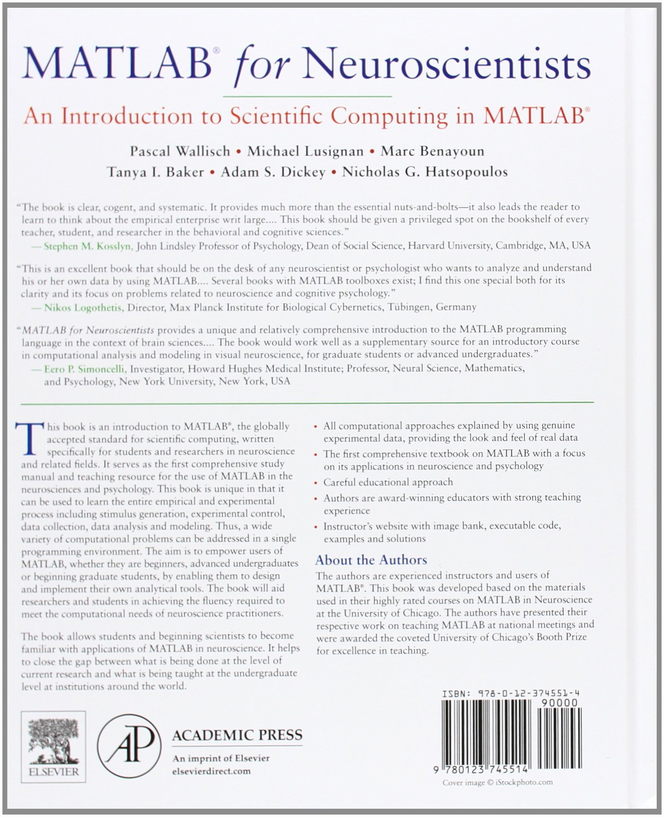 MATLAB for Neuroscientists: An Introduction to Scientific