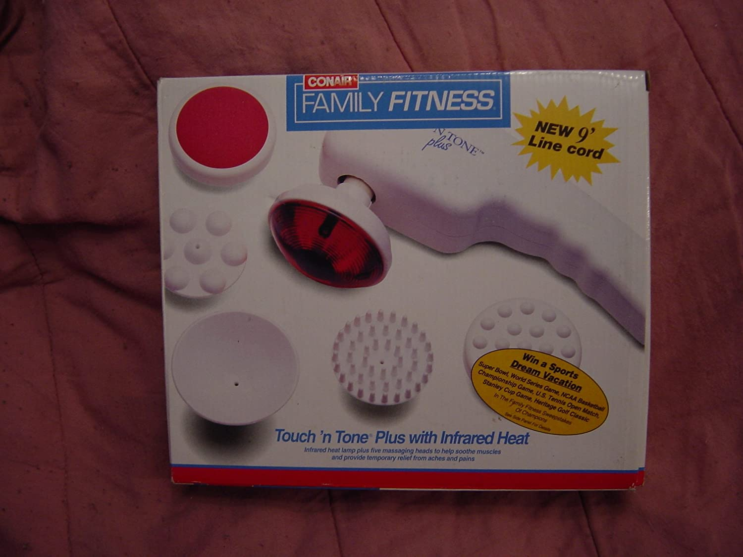 amazoncom conair family fitness touchu0027n tone plus with infrared heat health u0026 personal care