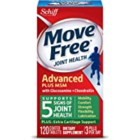 Move Free Advanced Plus MSM 120 Tablets Joint Health Supplement