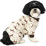 PetRageous Cuddle Up Pajamas for Pets, Small