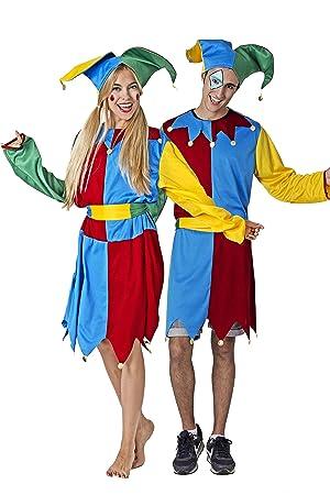 Costumizate! Disfraz de Bufón Adulto Especial para Fiestas de ...