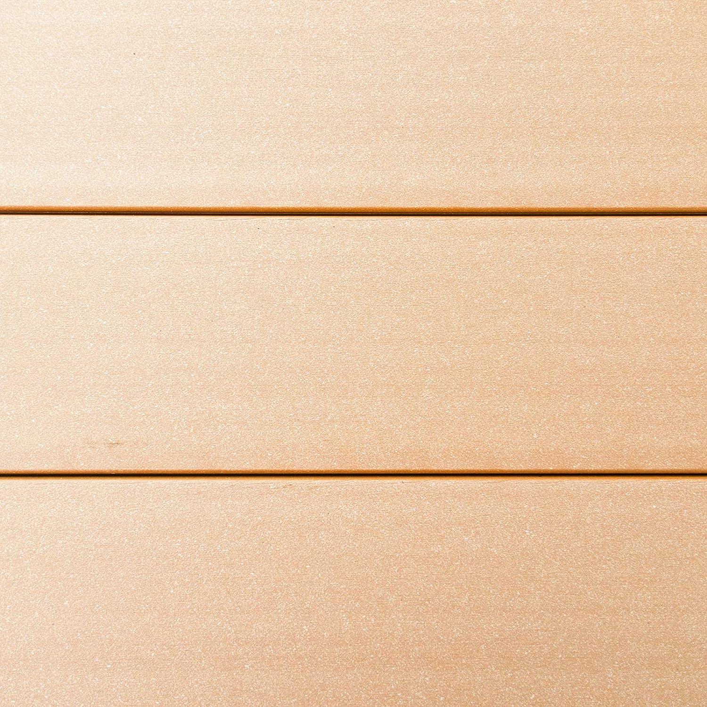 HORI/® WPC Terrassendielen I Hohlkammer I Komplett-Set inkl 45x45 mm Unterkonstruktion /& Clips Dielenl/änge 3,00m I Fl/äche 20m/²