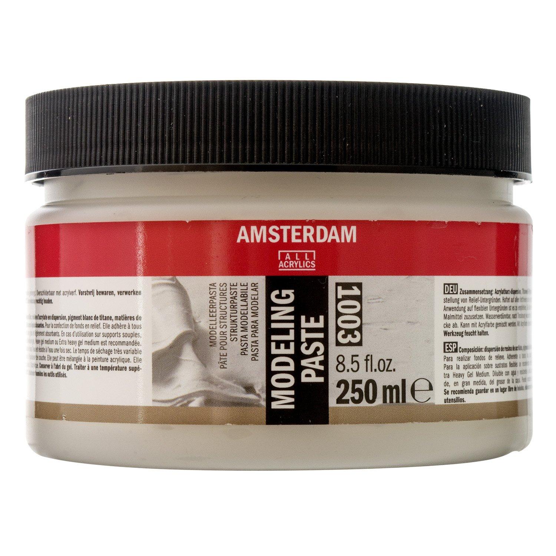 Amsterdam Acrylics Modeling Paste 250ml Jar Royal Talens T2417-3003