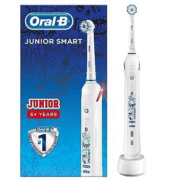 Oral-B Junior Smart - Cepillo Eléctrico con Tecnología de Braun
