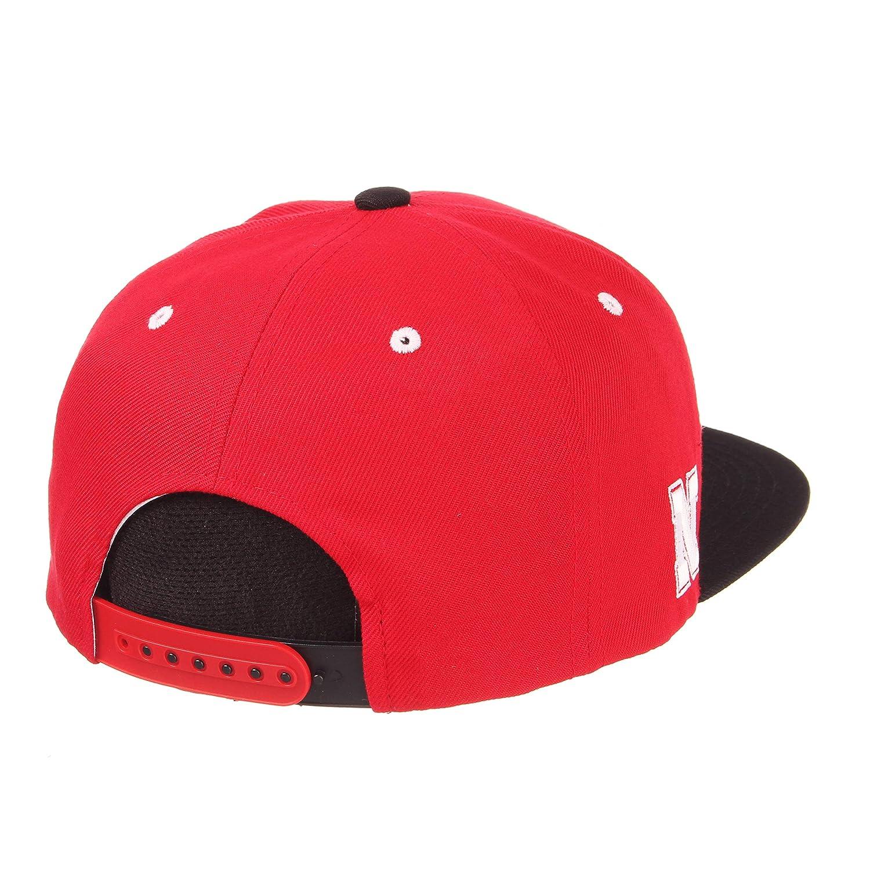NCAA Arizona State Sun Devils Mens Harajuku Snapback Hat Tokyodachi Collection Maroon Adjustable