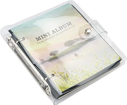 Yosuny Tasche Pu Leder Fotoalbum Für 3 Zoll Fujifilm Instax Filme Fuji Mini 8 8 Mini9 Mini11 70 90 25 50s 7s Albumbuch 100 Taschen Insel Küche Haushalt