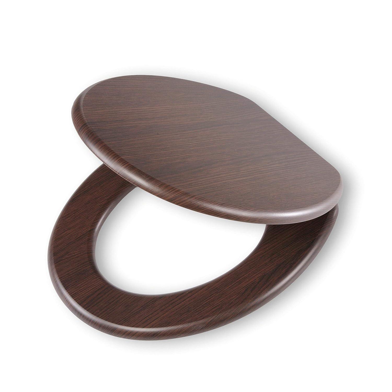 abattant wc marron chocolat ides Tiger 251678346 Siège de Toilettes, Bois, wengé, 43x37,5x5 cm: Amazon.fr:  Cuisine u0026 Maison