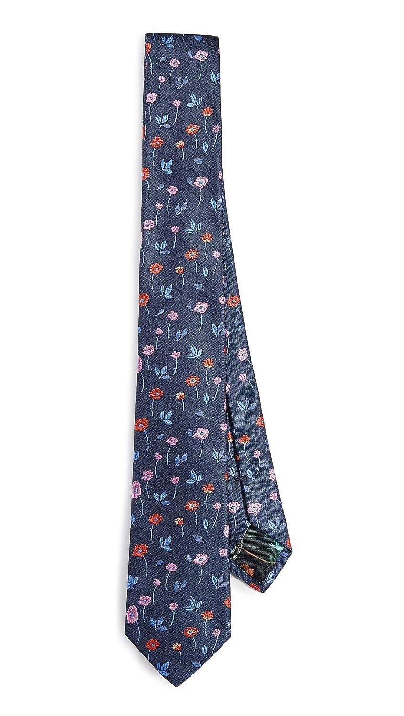 Paul Smith Mens Floral Narrow Tie