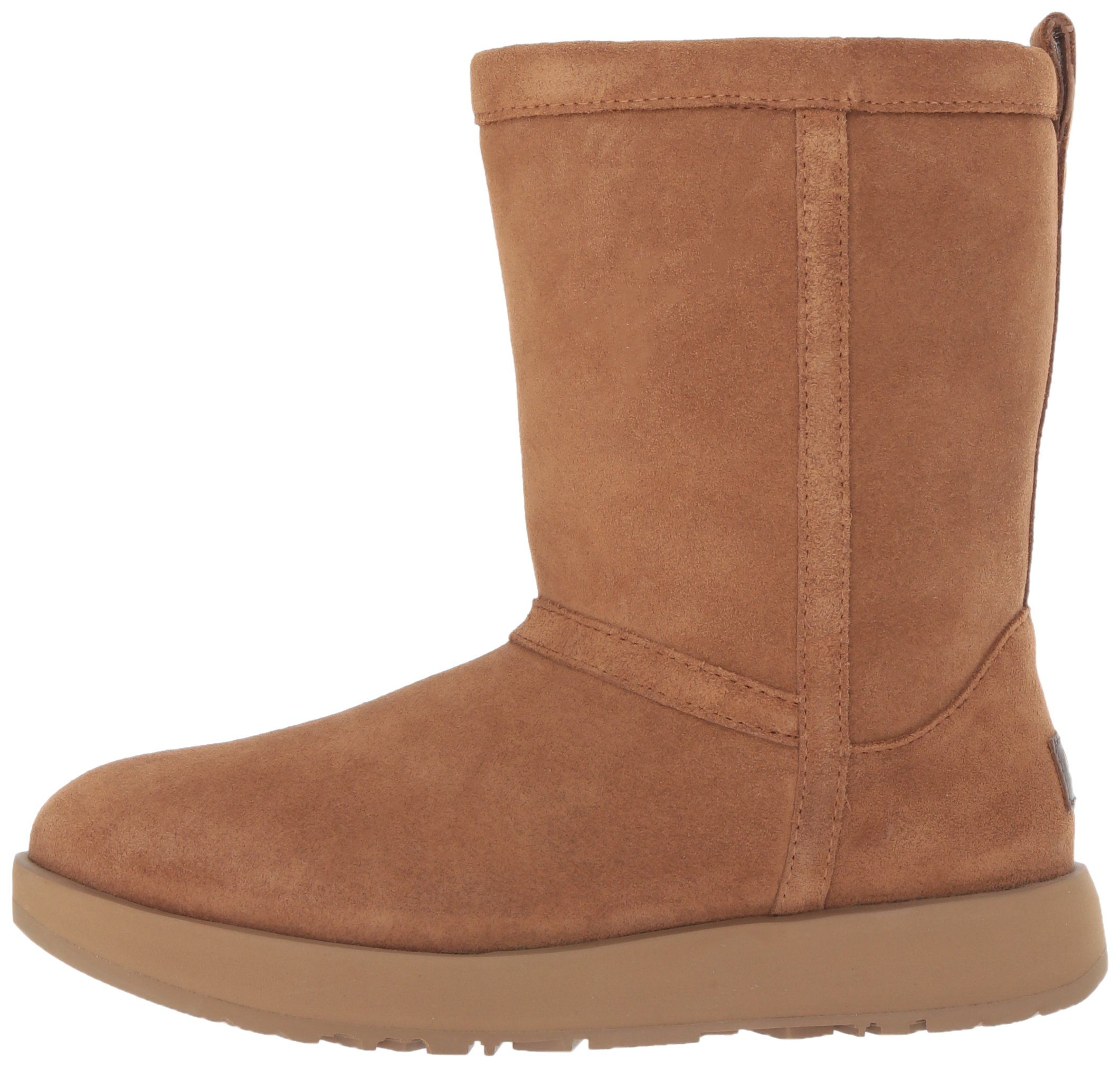 UGG Women's Classic Short Waterproof Snow Boot, Chestnut, 9 M US by UGG (Image #5)