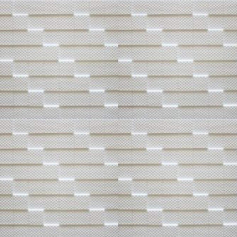 Blanco paquete de 56 pc // 14 metros cuadrados Azulejos de techo de poliestireno Manhattan