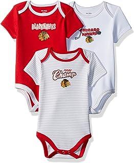 ebff7385 Amazon.com : Chicago Blackhawks Jersey Onesie by Reebok 6/9 Months ...