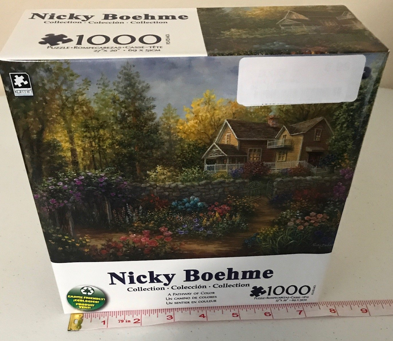 Peaceful Mooring By Nicky Boehme 1000 Piece Puzzle George
