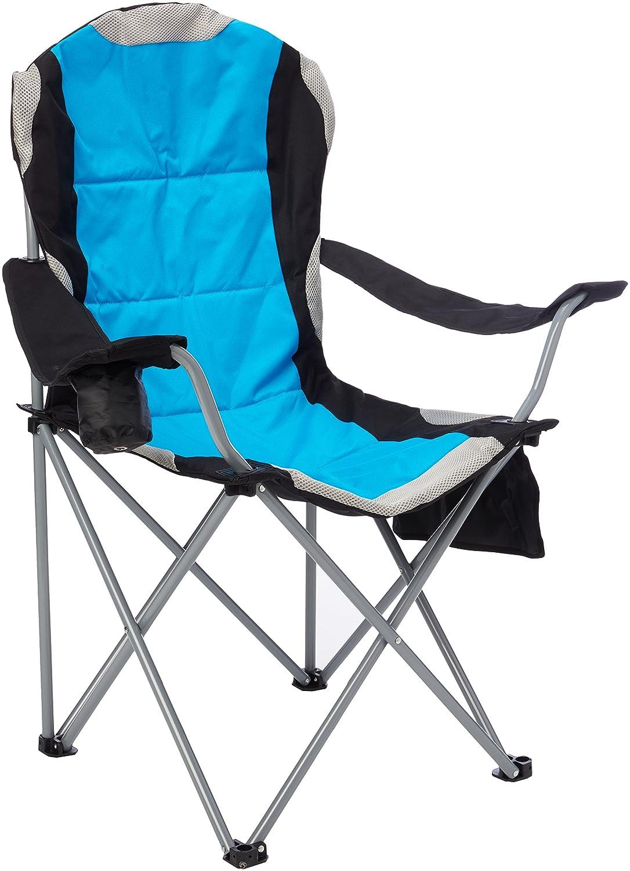 Mapletonパッド入りキャンプ椅子 – ブルー/レッド/グリーン/ Cerise – イエローストーン B01CBHI2UO  ブルー