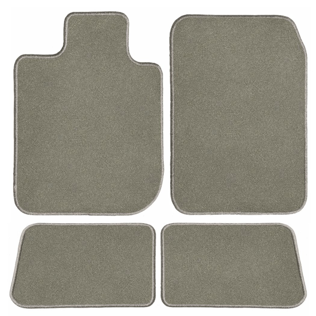 2019 Land Rover Discovery Grey Driver Passenger /& Rear Floor 2018 GGBAILEY D60357-S1A-GY Custom Fit Car Mats for 2017