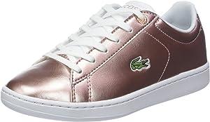 Lacoste Carnaby EVO 318 2 SPJ, Zapatillas para Niñas