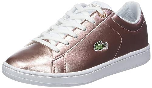 Lacoste Carnaby EVO 318 2 SPJ, Zapatillas para Niñas  Amazon.es  Zapatos y  complementos dd15913da8