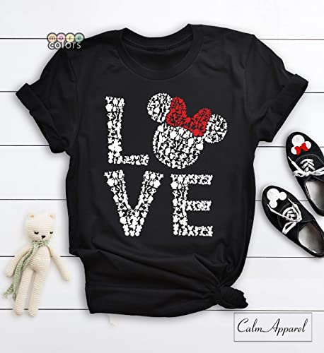 ceaccf5291ef04 Image Unavailable. Image not available for. Color  Love Disney Shirts