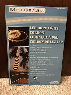 Amazon 18 everstar flexible rope led lighting great for led rope light 54m18ft18po 210 leds dimmingfading aloadofball Gallery