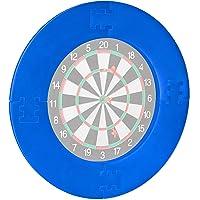 Relaxdays Unisex – Dart Catchring R7 voor volwassenen, 4-delig, beschermring voor dartbord van 45 cm, stabiel…