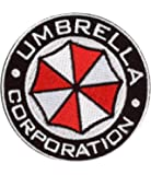 Resident Evil USS Umbrella Corporation Round Security Service Costume Patch