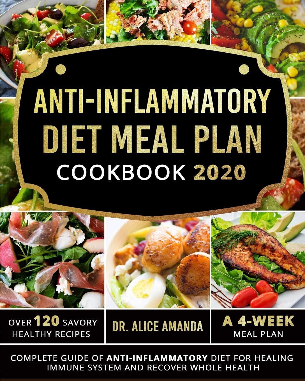 best anti inflammation diet plan book
