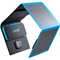 Solar Charger, Anker 24W 3-Port USB Portable Solar Charger with Foldable CIGS Panel for Camping, PowerPort Solar for…