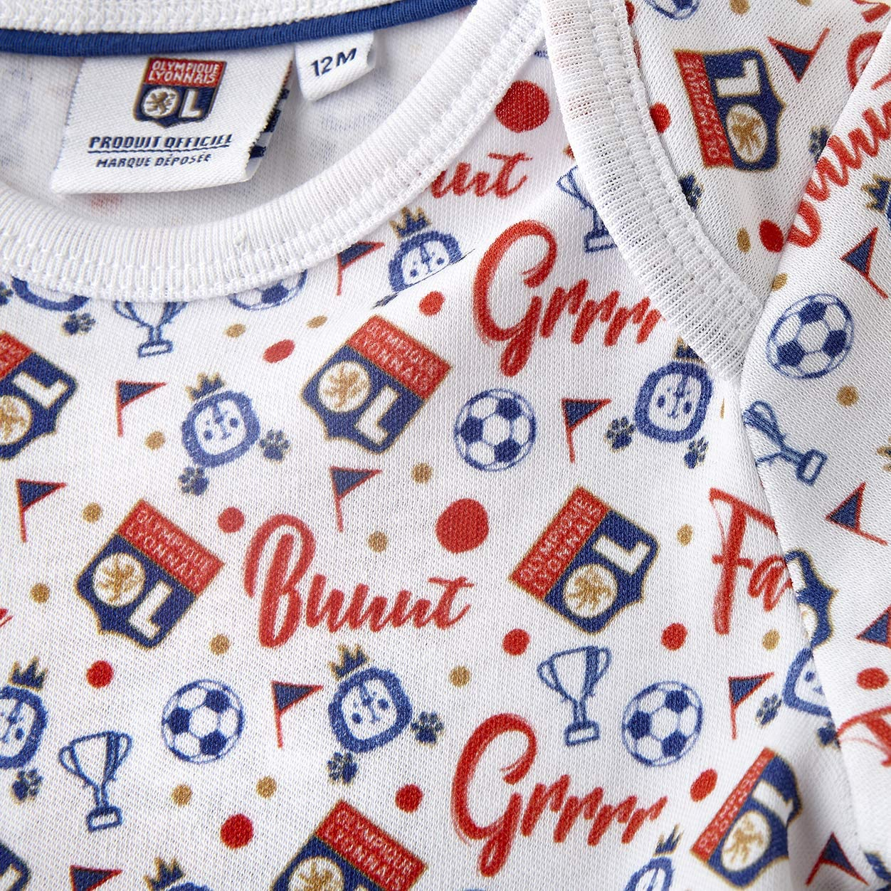 Olympique Lyonnais Body Manches Longues Baby But