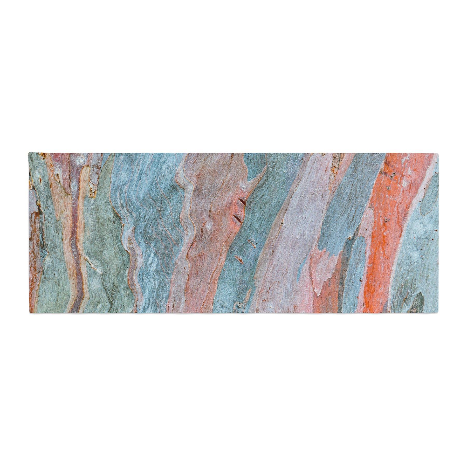 Kess InHouse Susan Sanders Beach Dreams Orange Blue Bed Runner, 34'' x 86''